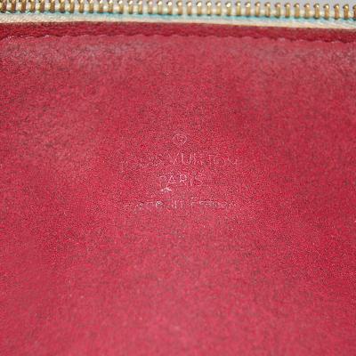 white multi color shoulder bag